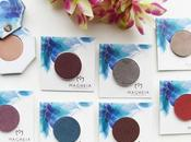 Magheia Cosmetics Eyeshadows Swatches