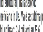 Fondi Europei. L´Alto Adige pari della Sicilia dell´Abruzzo utilizzo zero euro.