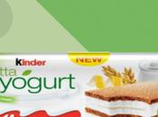 Arriva Kinder fetta alla yogurt