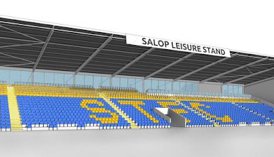 Shrewsbury Town FC, il 17 maggio partono i lavori per l'installazione dei rail seat al New Meadow