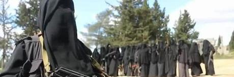Risultati immagini per jihadiste donne