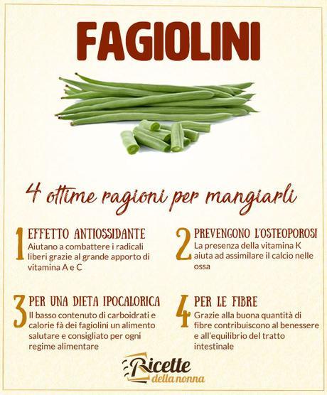 4 motivi per mangiare i fagiolini