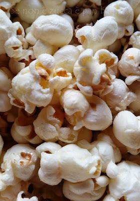 Pop Corn al Burro come quelli del Cinema