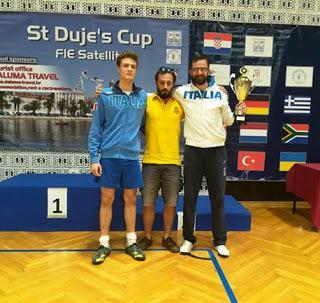 SPALATO (croazia). Bollati vince agli Internazionali di Spalato, Leone 25esimo.