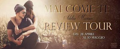 Reviews Party Mai come te di Adelia Marino