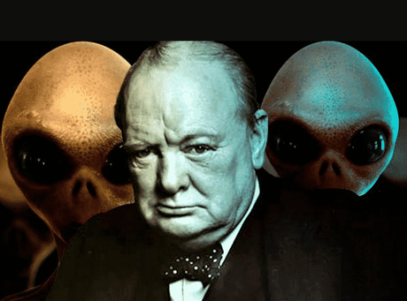 Winston Churchill e gli alieni in un testo inedito del 1939