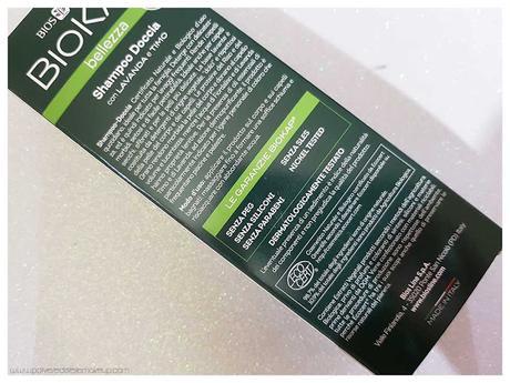 Shampoo Biokap bio lavanda