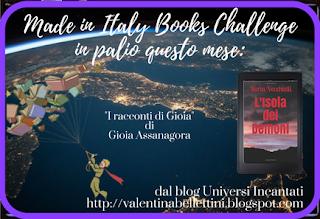 Made in Italy Books Chalenge 2018 - Aprile: Il libro di una piccola casa editrice italiana