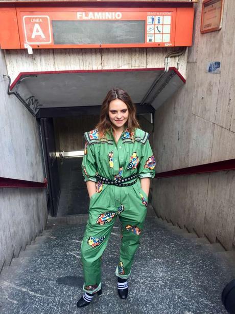 Michielin, a sorpresa live show in metro