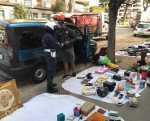 Porta Maggiore e Montagnola, Polizia Locale continua a sequestrare nonostante le resistenze degli abusivi.