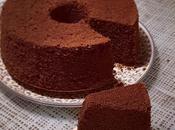Chiffon cake cacao