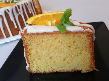Chiffon cake allo sciroppo di arancia
