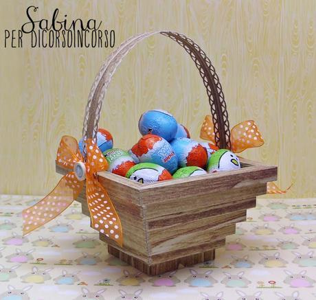 E per Pasqua...un cestino porta ovetti