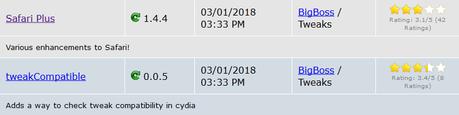 [Aggiornato 30.04.2018] Cydia (iOS 9.3.x/iOS 10.x.x) – I Tweak già testati e funzionanti