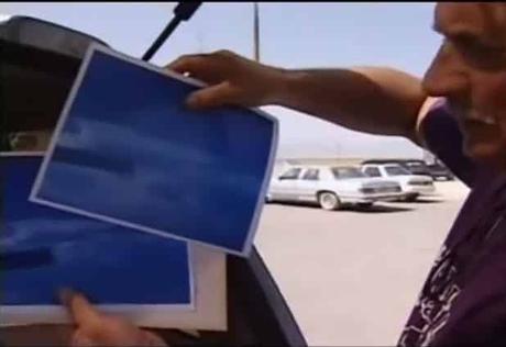 L'UFFICIALE USAF GUY KIRKWOOD: QUESTI ESSERI VENIVANO IN PACE