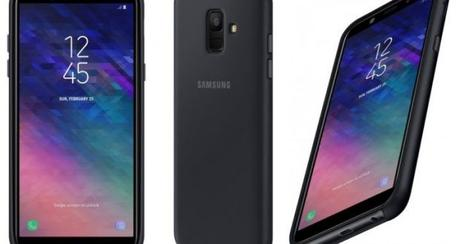 Samsung Galaxy A6 render
