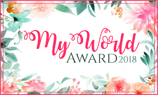 Premi del Blog: My World Award 2018