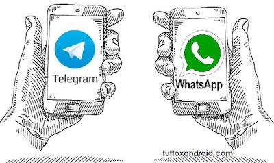 Telegram sempre più uguale a whatsapp nei disservizi: ma restano 5 sostanziali differenze