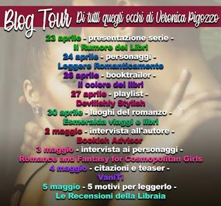 Blogtour: Di tutti quegli occhi di Veronica Pigozzo - Intervista
