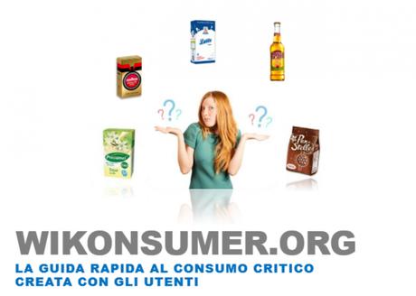 Wikonsumer la prima guida online degli alimenti