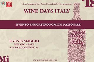 WINE DAYS ITALY_Evento Enogastronomico Nazionale