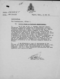IL DOSSIER SULL'UFO RITROVATO IN CANADA NEL 1968