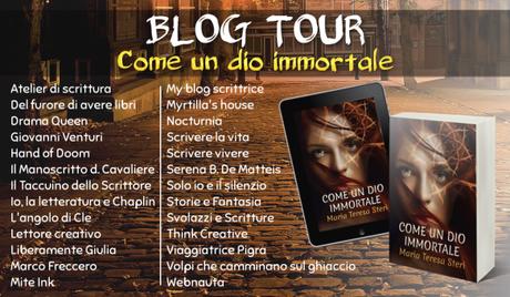 Blog Tour: Come un dio immortale – I luoghi del romanzo