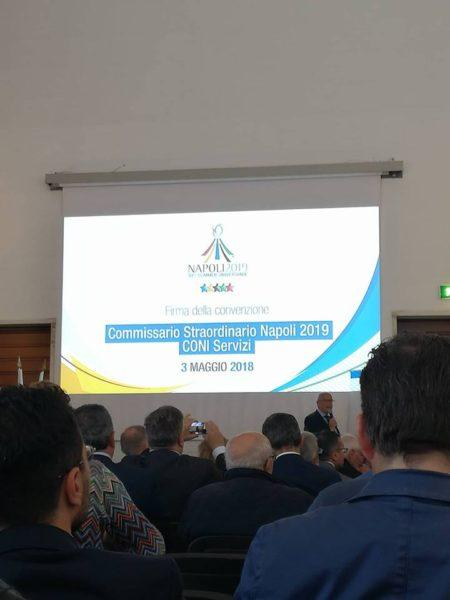 Universiadi 2019 a Napoli: 2500 casette per gli atleti alla Mostra d'Oltremare