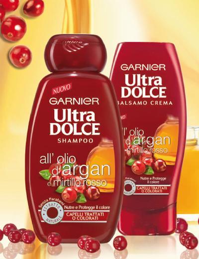 Ultra dolce all olio di argan e mirtillo rosso balsamo crema ultra