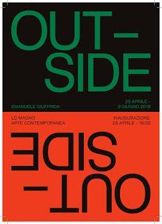 Outside, mostra personale di Emanuele Giuffrida dal 28 aprile al 9 giugno