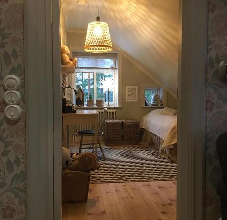 Una vecchia casa di campagna in Svezia
