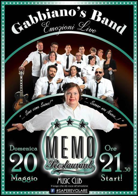 [COMUNICATI] La GABBIANO'S BAND, gruppo formato da 8 ragazzi con disabilità, in concerto domenica 20 maggio a Milano