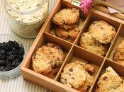 Cookies fiocchi d'orzo ciliegie disidratate