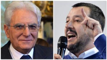 Il miope Salvini e l'irresponsabile Mattarella