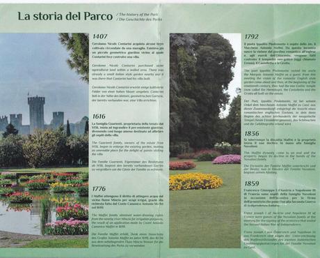 mappa del ParcoGiardino SIGURTA', Valeggio sul Mincio