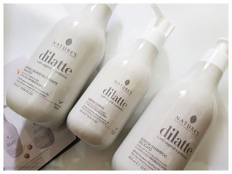 DìLatte prodotti skincare Nature's