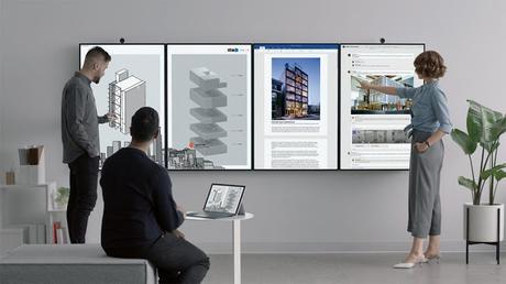 Microsoft Surface Hub 2 annunciato ufficialmente: un mega tablet da 50 pollici basterà?