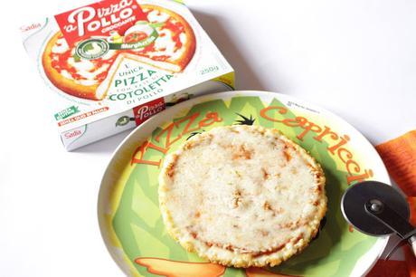 'aPizzaPollo  la cotoletta che si crede una pizza!