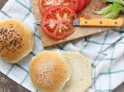 Panini hamburger burger buns