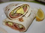 Tex-mex: Tortillas salmone avocado