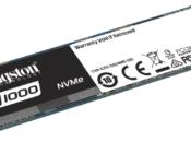 Kingston presenta drive stato solido PCIe NVMe A1000 entry-level