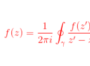 rappresentazione integrale cauchy