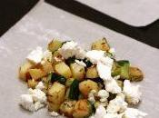 Fagottini pasta fillo patate, zucchine, feta timo