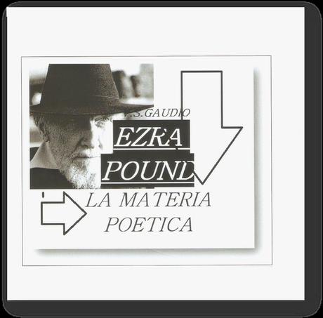 """""""Cosmotaxi"""" intervista V.S. Gaudio su Ezra Pound"""