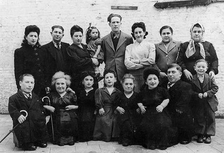 La famiglia Ovitz, i nani di Mengele