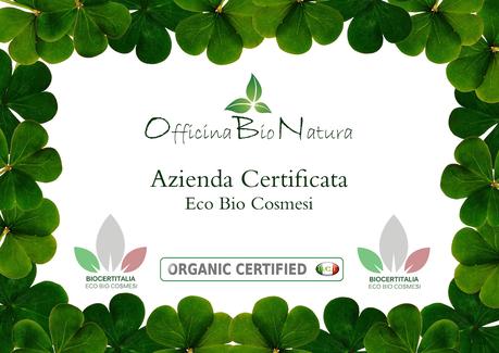 Officina BioNatura certificazione bio