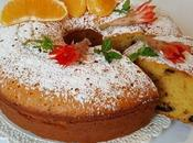 Chiffon cake allo sciroppo arancia cioccolato