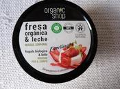 nostra scoperta coll. Sweet Candy: Mousse corpo alla fragola biologica latte Organic Shop