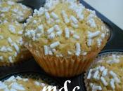 Muffins (Tortine) senza burro olio semi acqua ricoperte granella zucchero