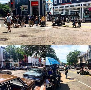 Wonder Woman 1984: Georgetown nelle nuove foto dal set